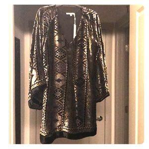 Brand new/Never worn Lavender Brown Dress